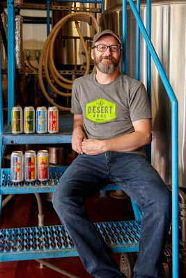 As a result of the pandemic, Desert Edge Head Brewer Chad Krusel was forced to find creative solutions in oder to adapt to the new circumstances.