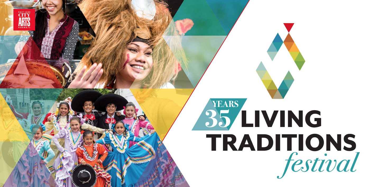 The annual Living Traditions Festival provides an opportunity for those participating to share their culture through song, dance and food.