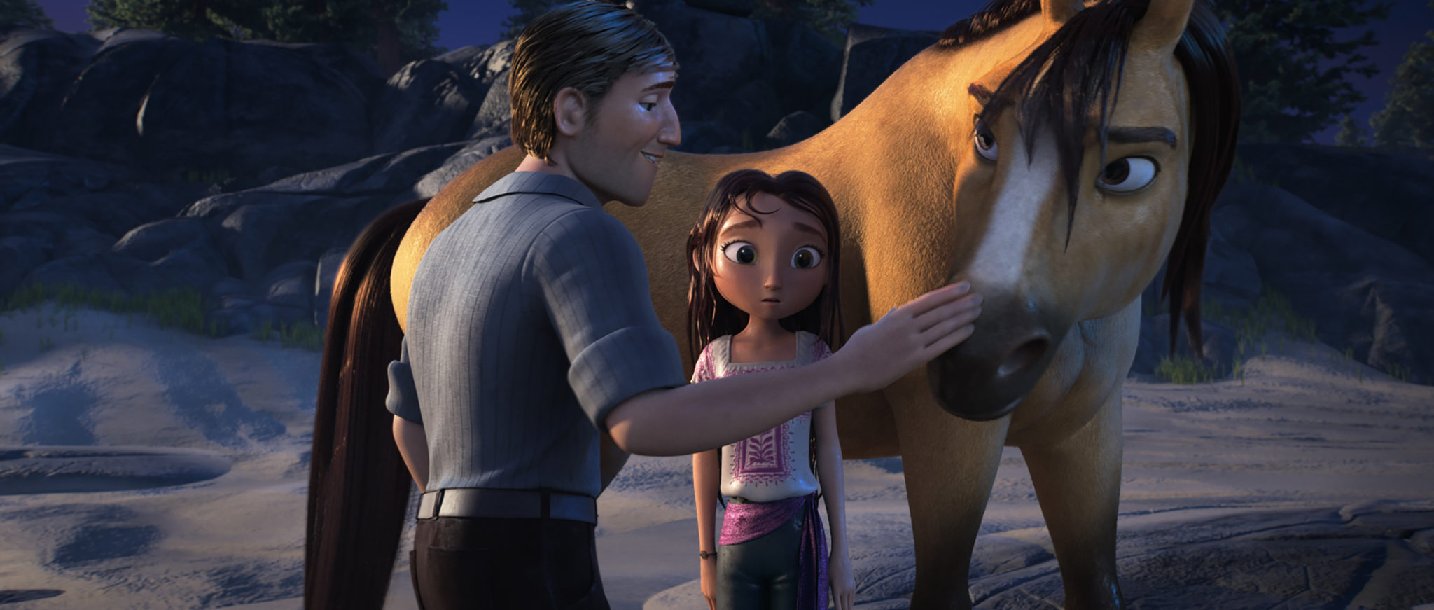 There's nothing wrong with a movie that's aimed at the 5–9-year-old age range, especially when it's as lovable as Spirits Untamed.