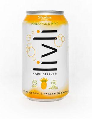 Livli Pineapple Mint Seltzer, Shades Brewing