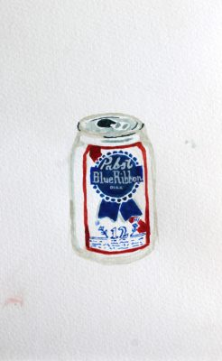 For Sophie Schwabacher, beer cans are a classic and timeless subject.
