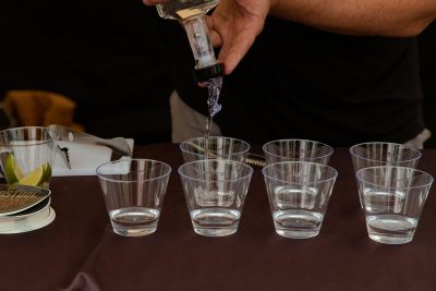 A round of shots is always in order.