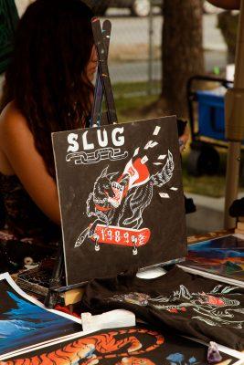 Halley Bruno's new SLUG Mag T-shirt design.