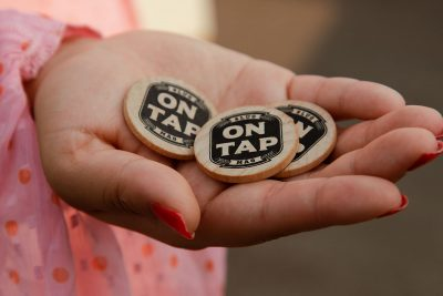 At the 2021 Brewwstillery, these tokens were patrons' ticket to brews, cocktails and more.