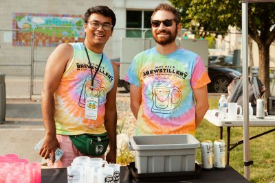 Salvador Oregon-Torres led the substantial and essential team of volunteers that helped make the 2021 Brewstillery possible.