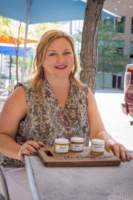 """""""People either love it or hate it,"""" says Valerie Koonce says, """"but mustard is a little magical, too."""""""