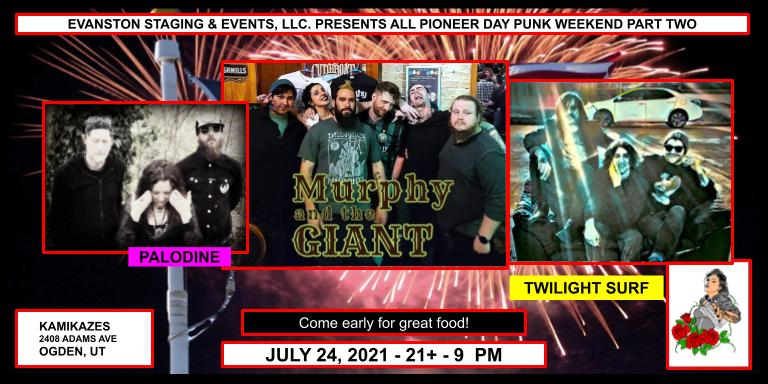 Pioneer Day Punk Night Part Two