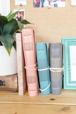 Be ready to connect to your project, with other makers and with the awesome but lesser-known world of book arts with Amanda Parramoure of My Leather Legacy.