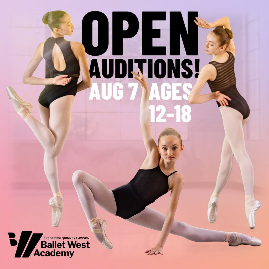Ballet West Academy Open Auditions