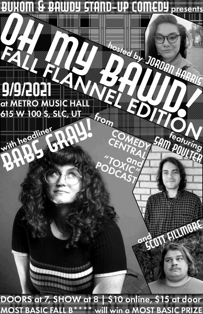 Oh My Bawd! -Fall Flannel Edition