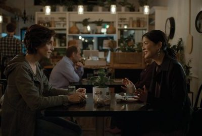 See You Then's bottled setting and dialogue-driven style give the film a casual smallness as it presents two flawed people trying to heal.