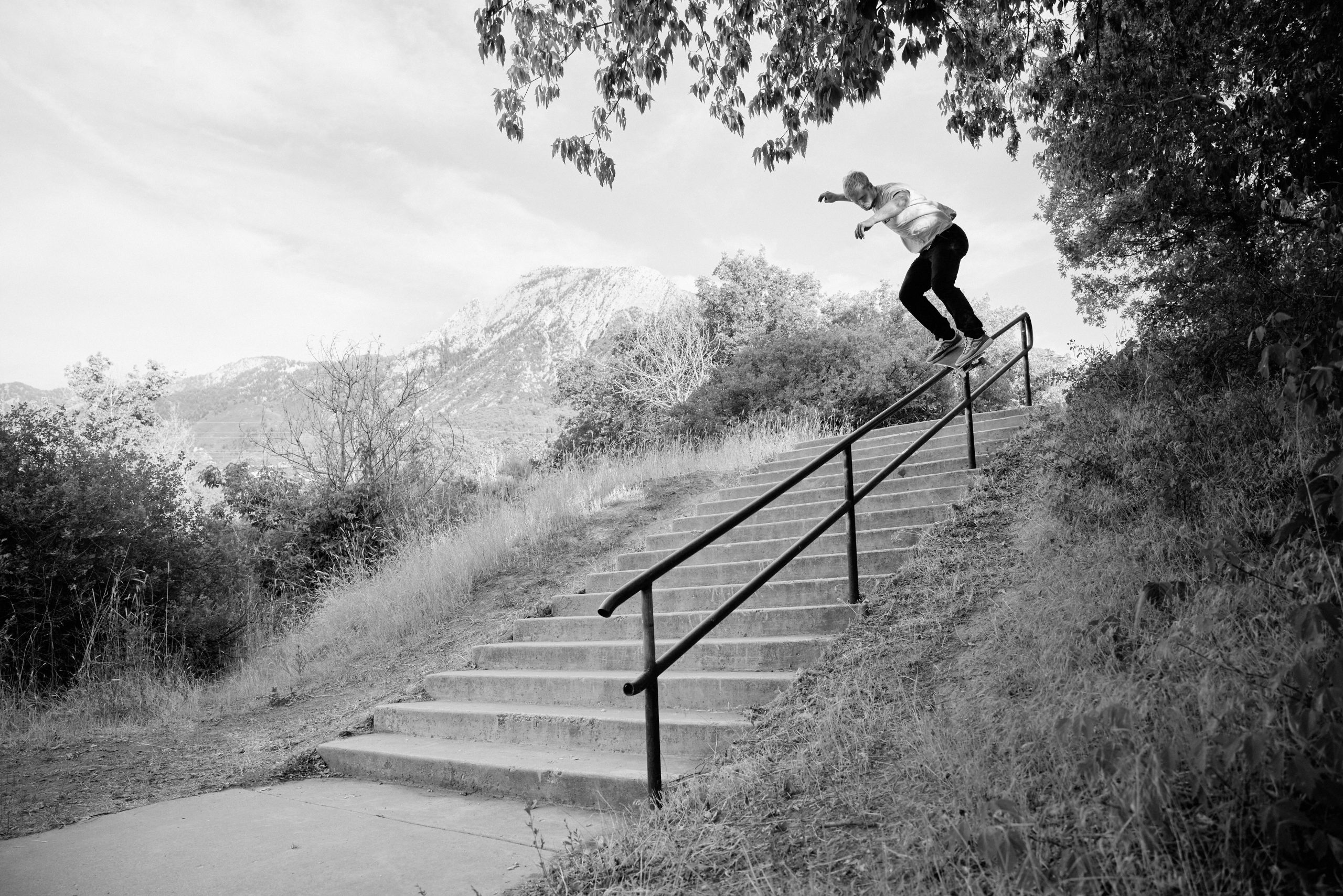 Jacob Taylor – Frontside Fifty-Fifty – Unknown Location, Utah.