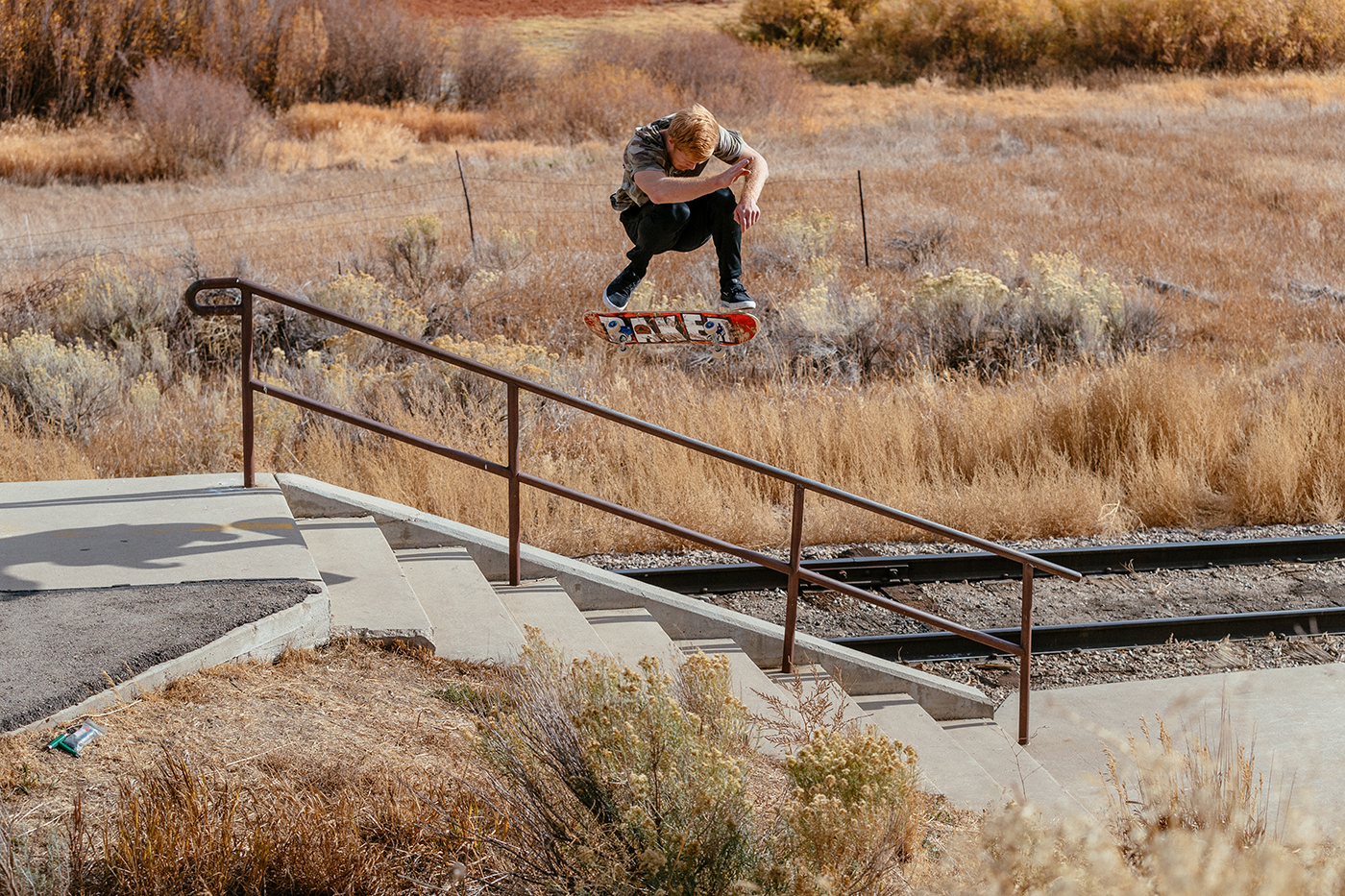 Weston Colton captured Jacob Taylor's hardflip in midair, and we're glad he did.