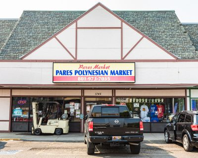 Pares is Utah's oldest and largest Polynesian market.
