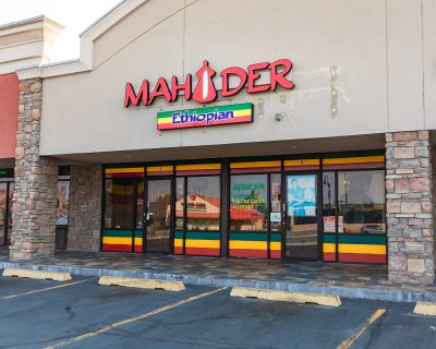 Mahider Ethiopian Market also doubles as a restaurant, so come hungry!