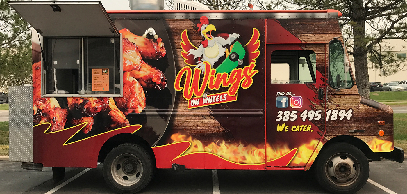 If you want tasty wings with excellent flavor combos, you should take the time to track down the Wings on Wheels truck and try them out.