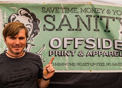 Keeping things sane over at Offside Print and Apparel.