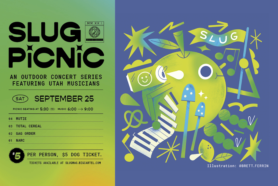 SLUG Picnic Presented By Sparrow Electric: Mutie, TOTAL CEREAL, Gag Order and NARC