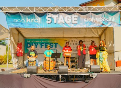 The KRCL stage was on fire throughout the say with various acts bringing the heat one performance at a time.