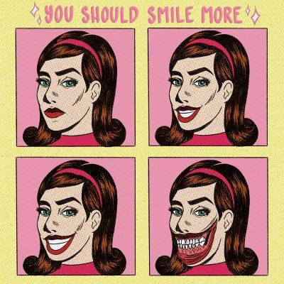 """""""You Should Smile More,"""" digital, 2019."""