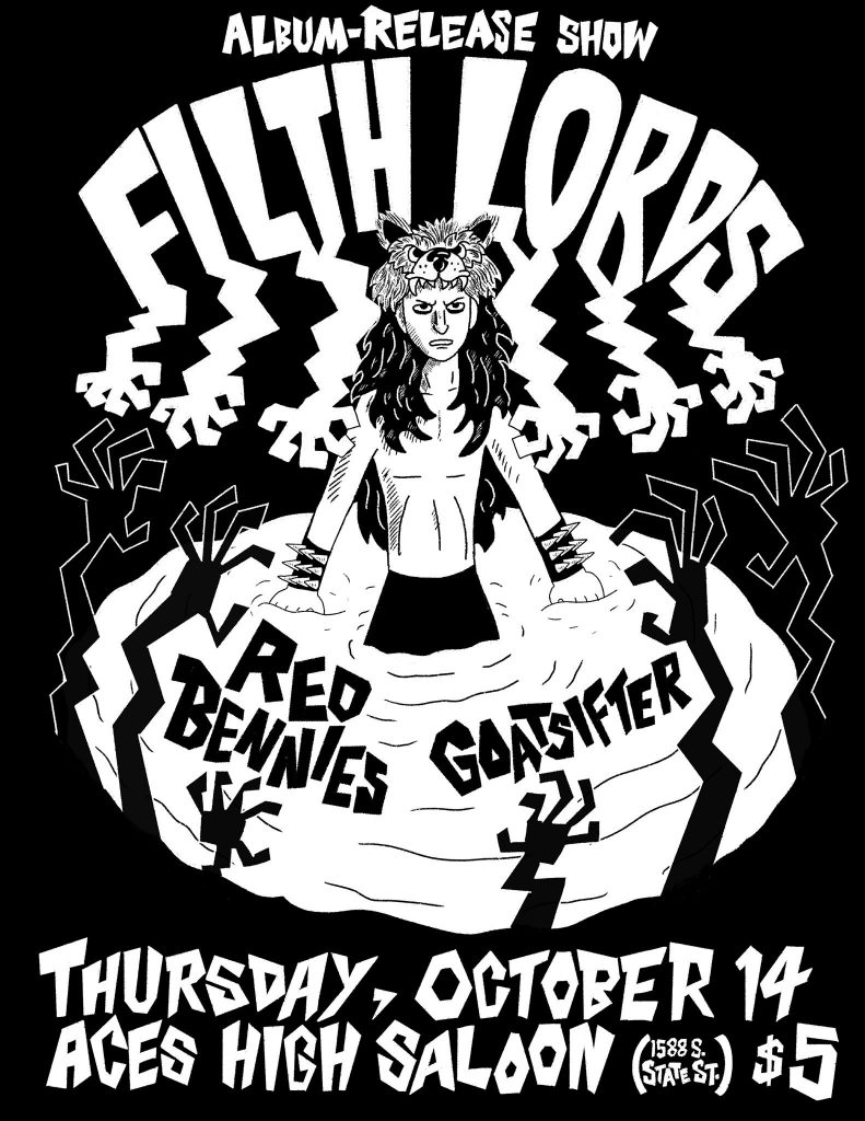 FILTH LORDS Album-Release, feat. Red Bennies and Goatsifter