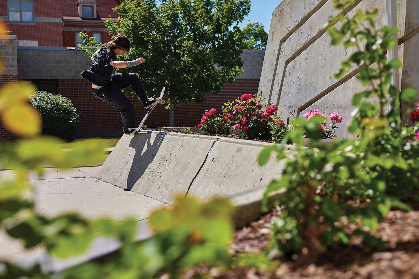 Matt Bergmann – Front Bluntside to flat – SLC, Utah.