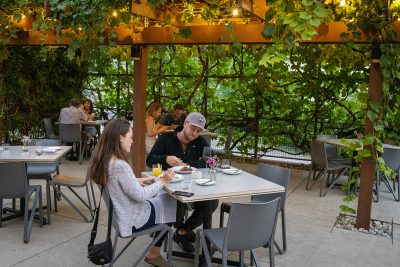 One of Arlo's most beloved characteristics is their oasis-like outdoor patio.