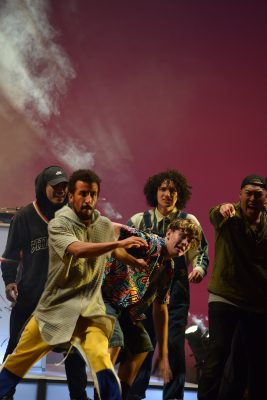 """""""They Reminisce is a fine balance of dance performance and narrative play that features a crew of dancers named SCR who are trying make a name for themselves in the world of hip-hop."""" (3 of 3)"""