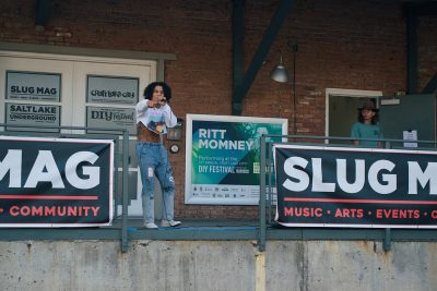 MOD was the first performer at the August SLUG Pinic.