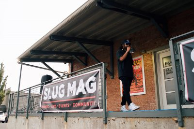 Local hip-hop mainstay youngassNICO graces the August SLUG Picnic stage.