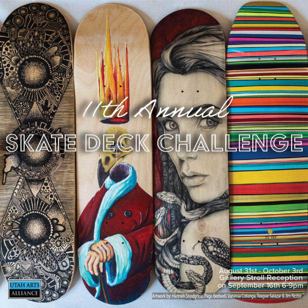 11th Annual Skate Deck Show
