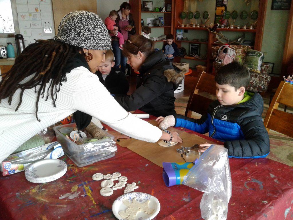 Craft Volunteer | Survival of the Slowest Exhibit