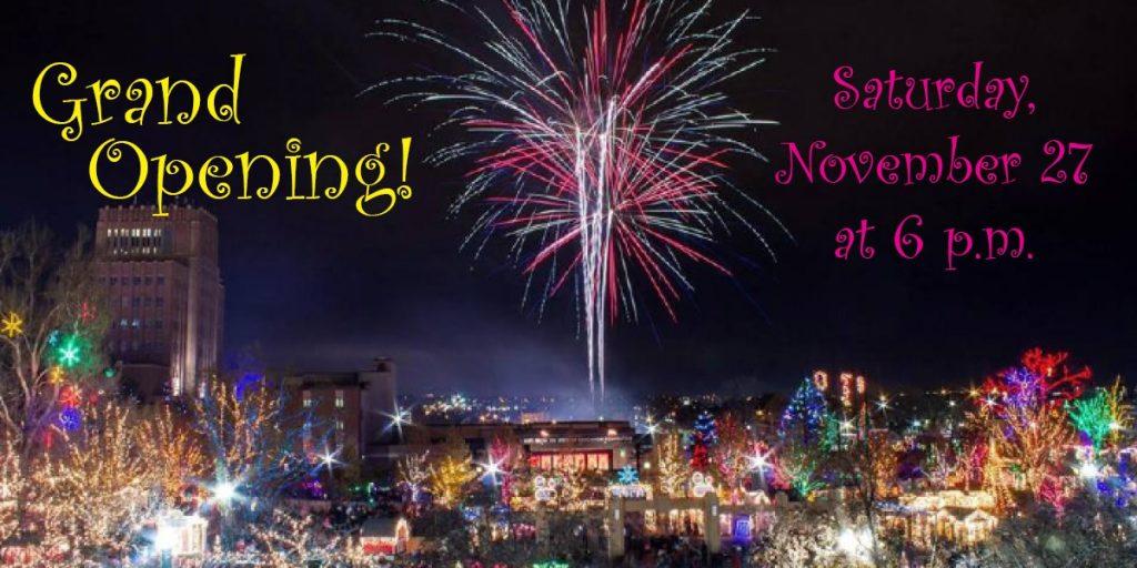 Grand Opening of Ogden's Christmas Village