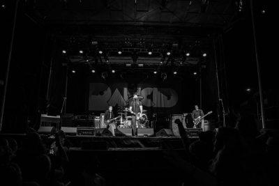 Rancid performing for fans in Sandy, Utah.