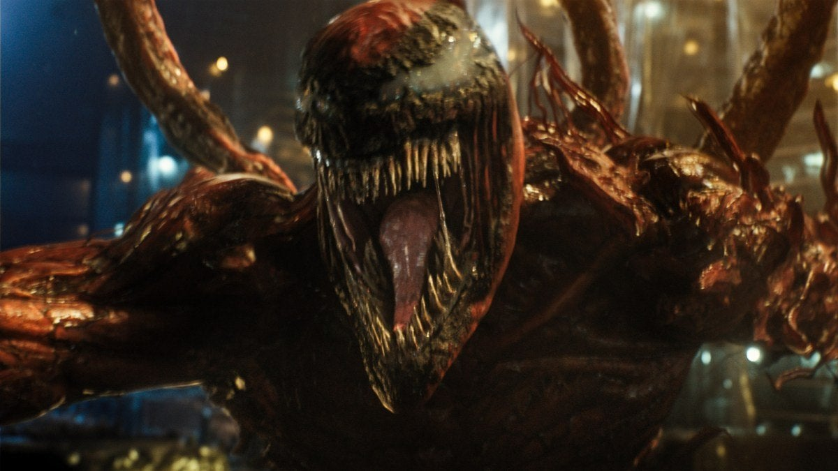 Venom: Let There Be Carnage ranks far below Daredevil and Ghost Rider for Marvel-inspired movies and ranks among the worst films of the year.